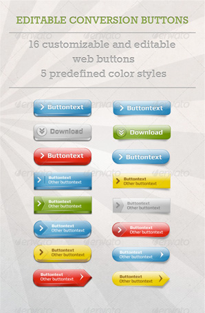 Editable Conversion Buttons